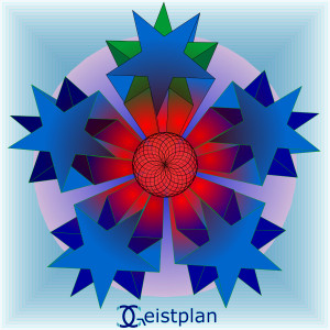 "Geistplan Mandala (""inneres Licht"")"