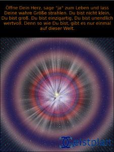 Mandala Bild mit Text