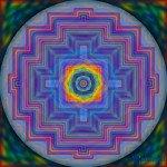 Mandala der Buntfraktale