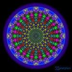Mandala der Glueckseligkeit