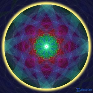 "Mandala von Geistplan (""Mandala des Bewusstseins"")"
