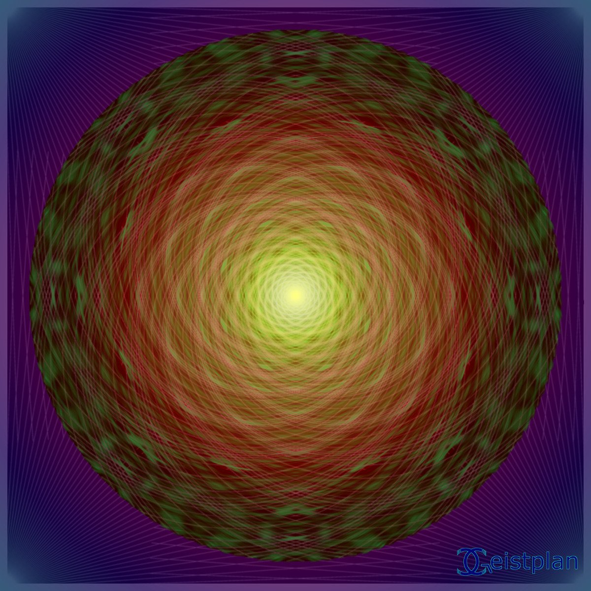 "Mandala von Geistplan (""Mandala der Erleuchtung"")"