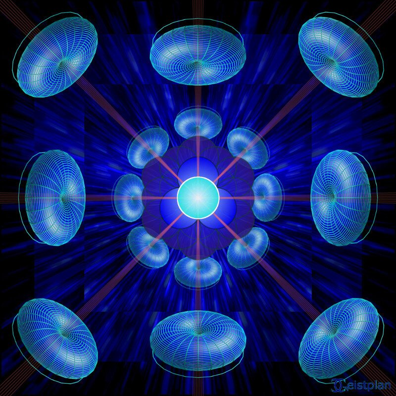 "Mandala von Geistplan (""Mandala der freien Energie"")"