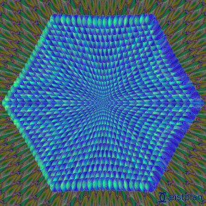 Mandala von Geistplan (Mandala der Meditation)