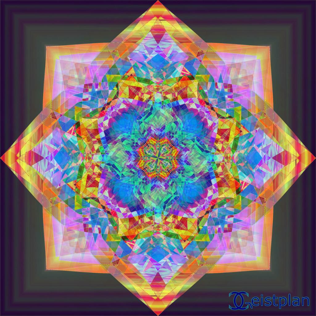Mandala Plane von Geistplan (Mandala der Raumzerrung)