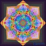 Mandala der Raumzerrung