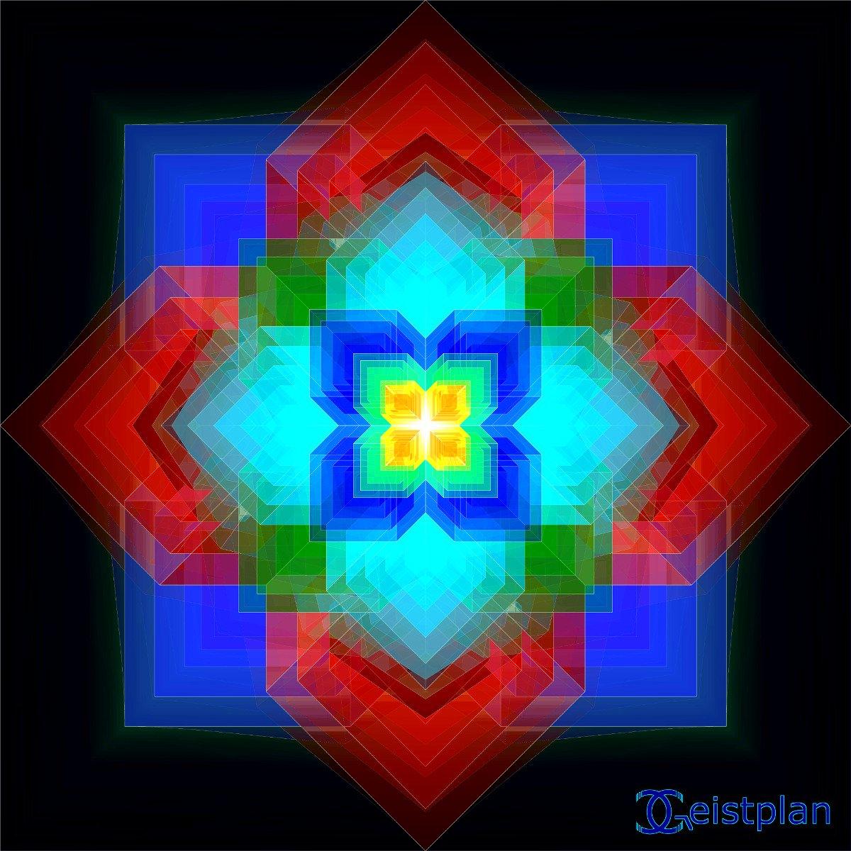 "Mandala von Geistplan (""T-raumhaft"")"