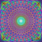 Mandala der Lebensfreude