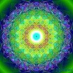 "Mandala ""Kristall der Tiefe"""