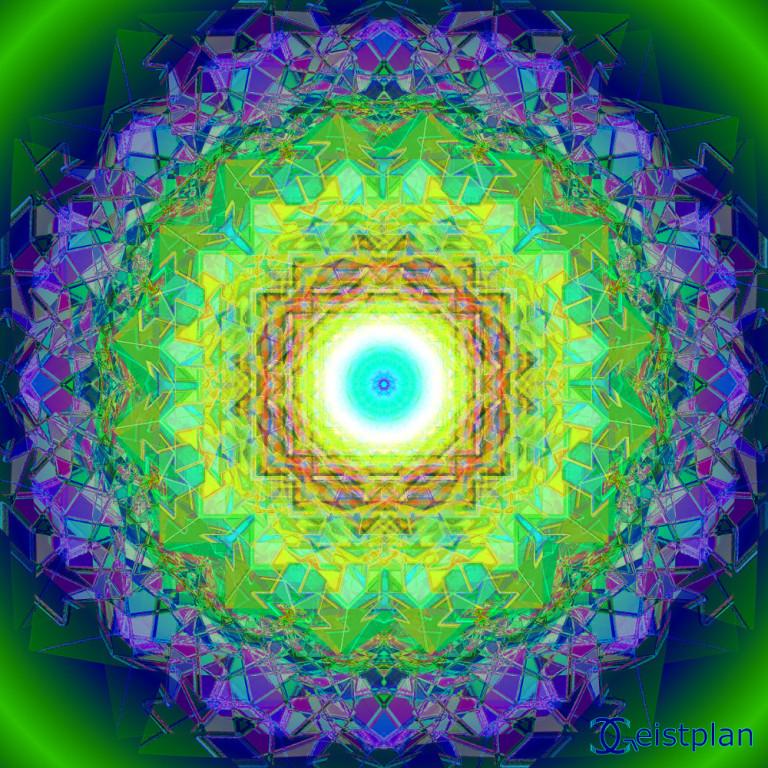 Mandala von Geistplan (Kristall der Tiefe)