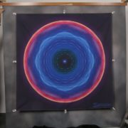 Mandala Spanntuch Reißfestes Spanntuch mit Karabiner