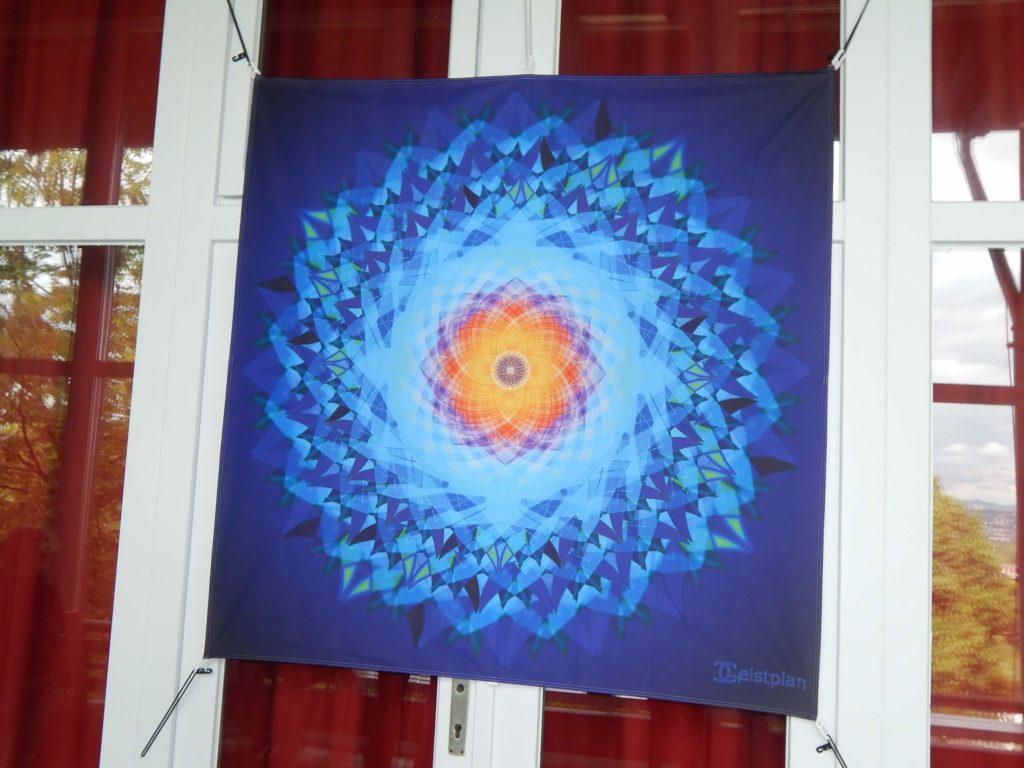 Mandala Spanntücher von Geistplan