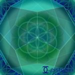Mandala von Geistplan vom Zufallsmandalaspiel fleißige Mandala Kreateure