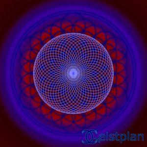 """Mandala von Geistplan (""""Mandala der Optik"""")"""