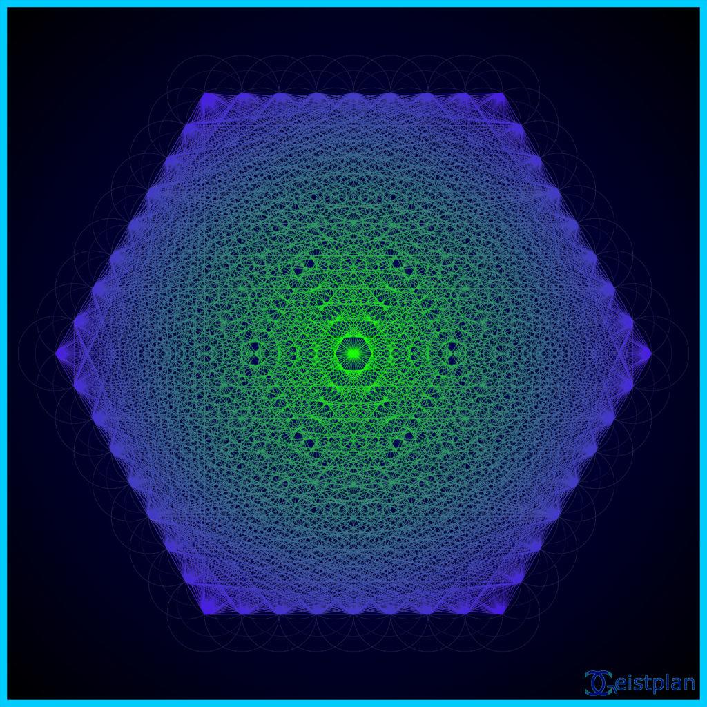 Bild: Mandala der Verbindung