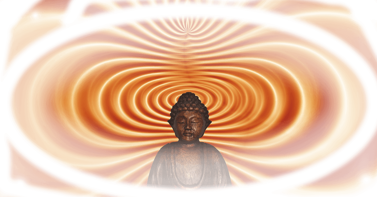 Buddha mit Wellen Meditationsvideos zur Entspannung