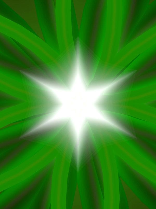 Bild von einem leuchtenden Stern