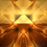 Mandala der goldenen Pyramiden