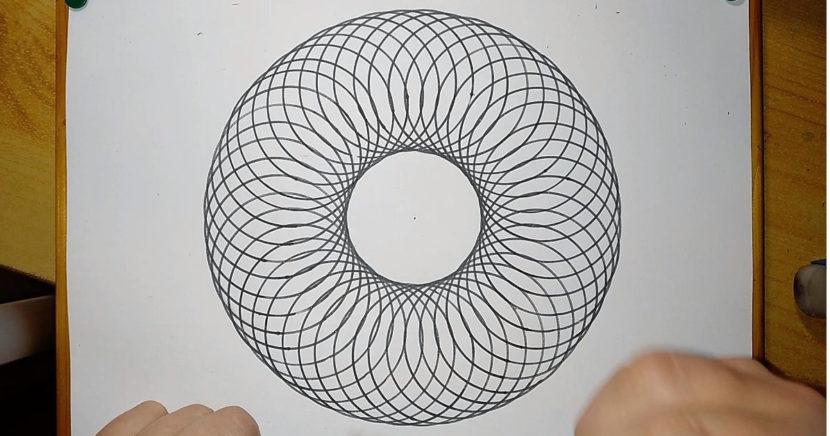 Zirkelmuster Kunst Zirkel Grundschule 11
