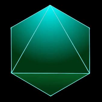 der platonische Koerper Oktaeder