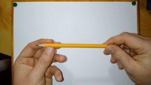 Spitziger Bleistift