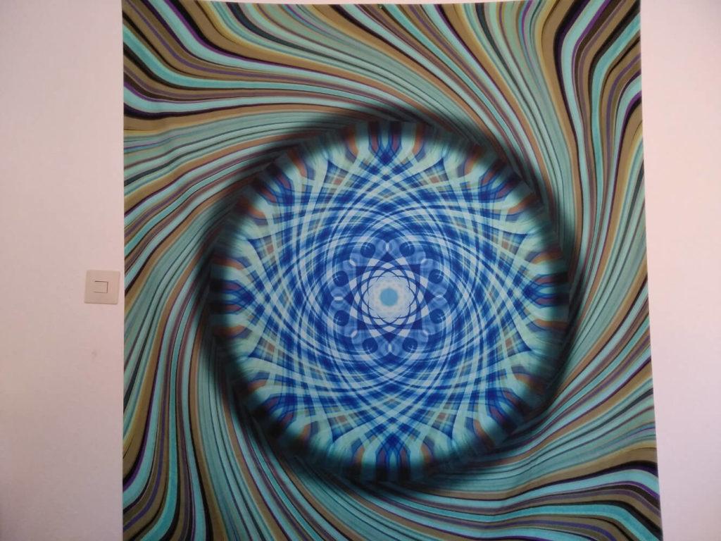 Bild zeigt Wandbehang Mandala vom Mandala der Neuanfang