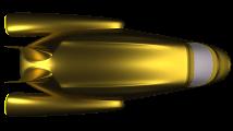 Bild von einem Raumschiff