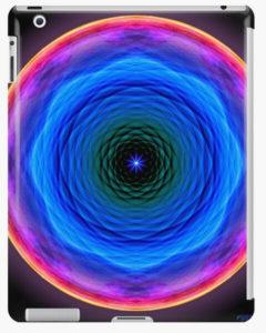 """Bild von einer Taböethülle mit dem Motiv """"Mandala der Barmherzigkeit"""" als Aufdruck"""