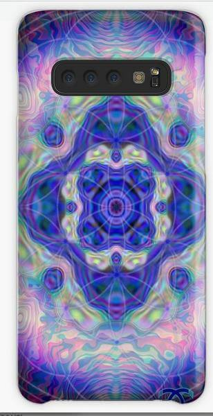 """Bild von einer Handyhülle mit dem Motiv """"Mandala der Besinnung"""""""
