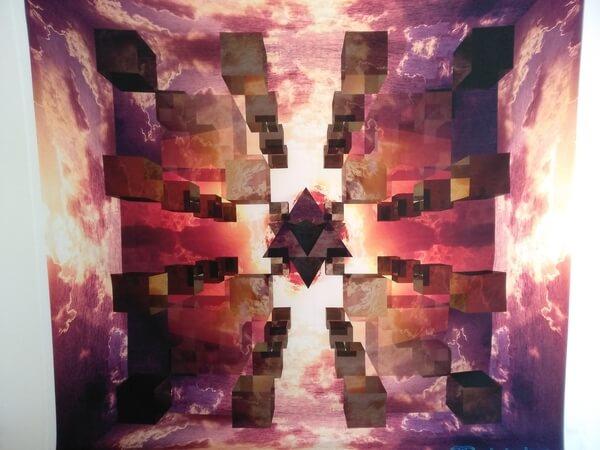 """Bild vom Wandbehang mit dem Motiv """"die Hallen von Amenti"""""""