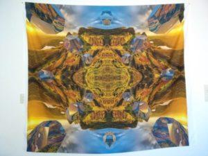 """Bild vom Wandbehang mit dem Motiv """"Mandala der Weite"""""""