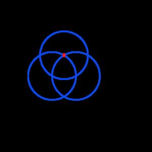 Anleitung: Blume des Lebens zeichnen Kreis 3