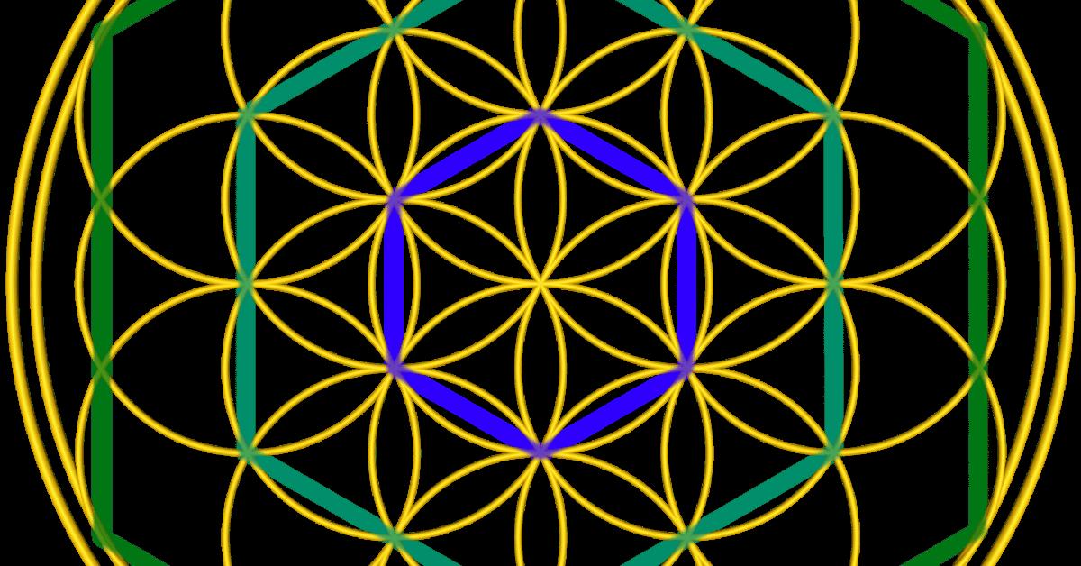 Bild zur Anleitung: ein Sechseck zeichnen