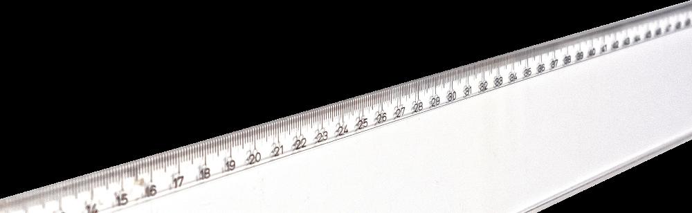 Bild von einem Lineal