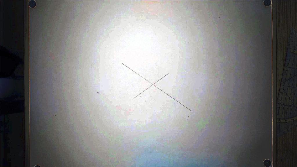 Bild von zwei Diagonalen