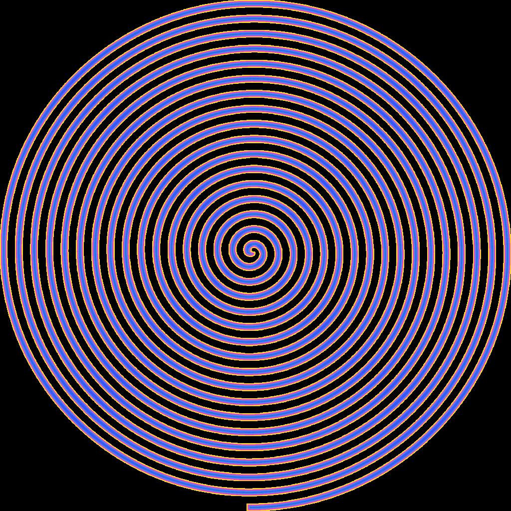 Spirale, Anleitung eine Spirale zeichnen