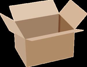 Bild von einem Karton/Schachtel