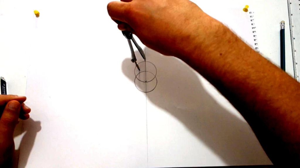 Bild von zwei Kreisen, welche ineinander sind.